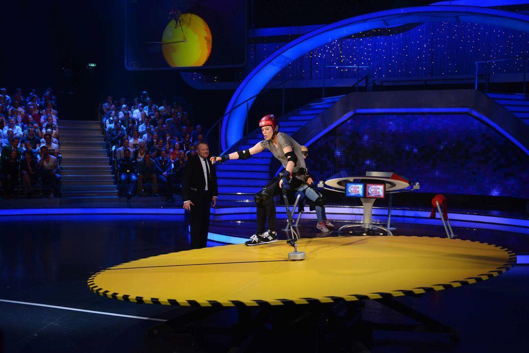 Kämpft, damit sie als Siegerin aus der Show geht: Larissa Marolt ... - Bildquelle: Willi Weber ProSieben