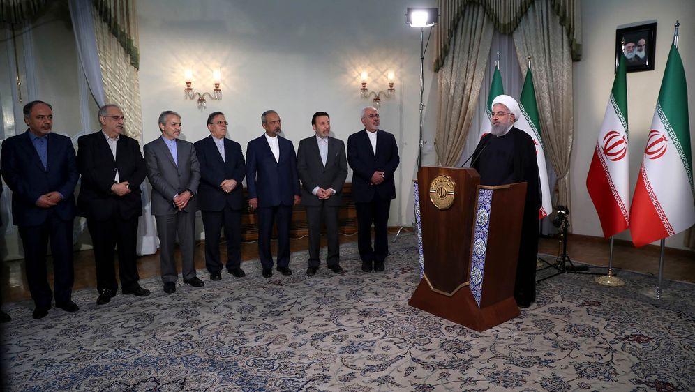 - Bildquelle: Uncredited/Iranian Presidency Office/AP/dpa