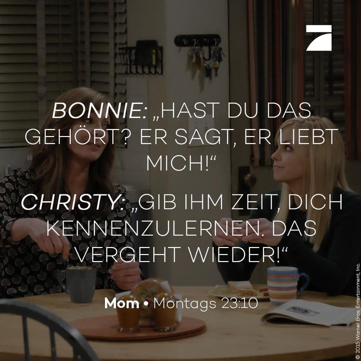 Bonnie und Christy - Staffel 3 Episode 19 - Bildquelle: 2016 Warner Bros. Entertainment, Inc.
