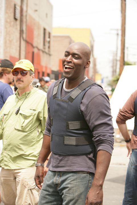 Ahnt Detektive Julien Lowe (Michael Jace) was Mackey und Vendrell für unrechtmäßige Methoden anwenden? - Bildquelle: 2007 Twentieth Century Fox Film Corporation. All Rights Reserved.