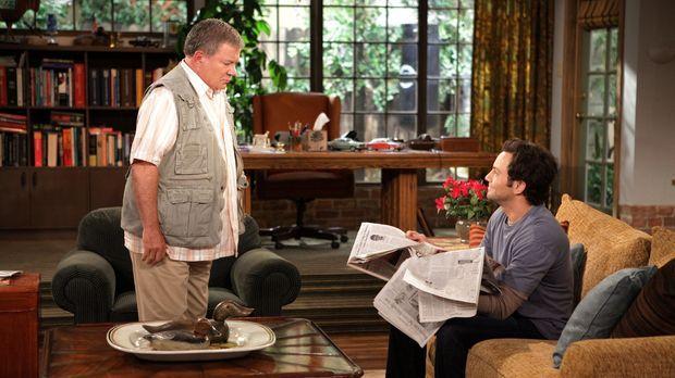 Ed (William Shatner, l.) kann nicht fassen, dass sein Sohn Henry (Jonathan Sa...