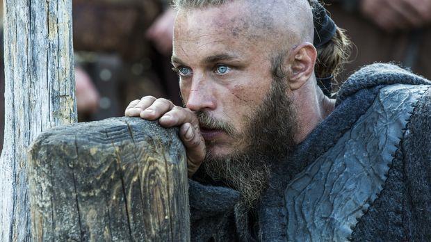 Die Verhandlungen zwischen Ragnar (Travis Fimmel) und Jarl Borg sind gescheit...