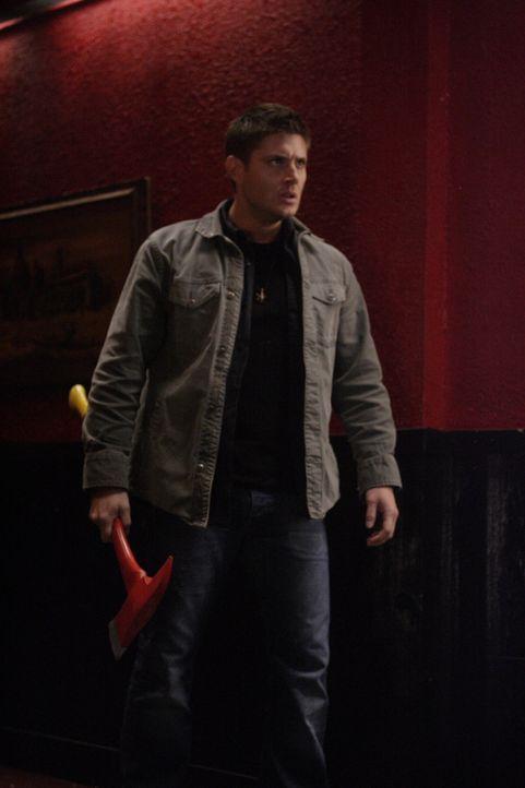 In einer Kleinstadt in Iowa ermorden drei Männer scheinbar grundlos ihre Ehefrauen. Bei ihren Ermittlungen finden Sam und Dean (Jensen Ackles) hera... - Bildquelle: Warner Bros. Television