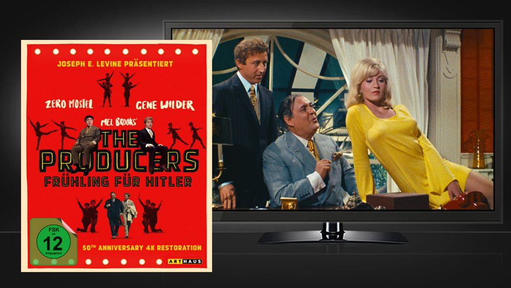 The Producers - Frühling für Hitler (Blu-ray)