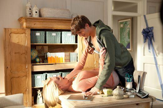 Kiss & Kill - Jen (Katherine Heigl, l.) und Spencer (Ashton Kutcher, r.)...