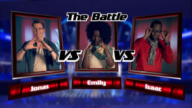 Jonas vs. Emily vs. Isaac