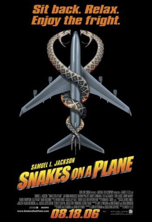 SNAKES ON A PLANE - Plakatmotiv - Bildquelle: Warner Brothers