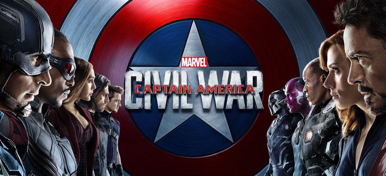 The first Avenger - Civil War - Artwork - Bildquelle: 2014 MVLFFLLC. TM &   2014 Marvel. All Rights Reserved.