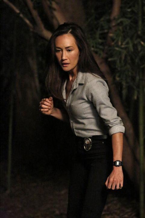 Ihre Kollegen merken, dass etwas nicht mit ihr stimmt und machen sich Sorgen um sie - doch wird Beth (Maggie Q) ihnen sagen, dass sie selbst einen S... - Bildquelle: Warner Bros. Entertainment, Inc.