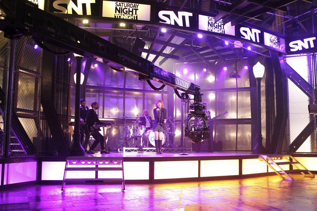 Der Auftritt der Sängerin Carly Rae Jepsen (Carly Rae Jepsen) läuft normal, bis etwas Unerwartetes passiert ... - Bildquelle: John Fleenor ABC Studios