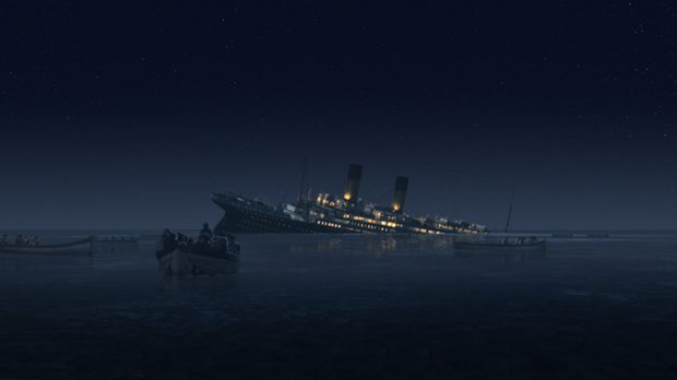 Die letzten Stunden der Titanic ... © Dangerous Films Ltd