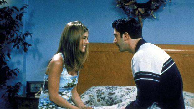 Rachel (Jennifer Aniston, l.) will wieder mit Ross (David Schwimmer, r.) zusa...