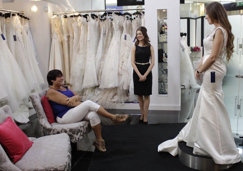 Braut Ciara möchte ihre 300 Hochzeitsgäste mit einem fantastischen Kleid bee... - Bildquelle: TLC & Discovery Communications