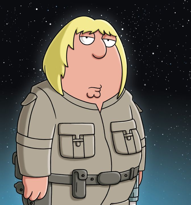 """Peter erzählt die Star Wars Saga """"Das Imperium schlägt zurück"""" à la Family Guy: Chris übernimmt die Rolle von Luke Skywalker - Bildquelle: 2007-2008 Twentieth Century Fox Film Corporation. All rights reserved."""