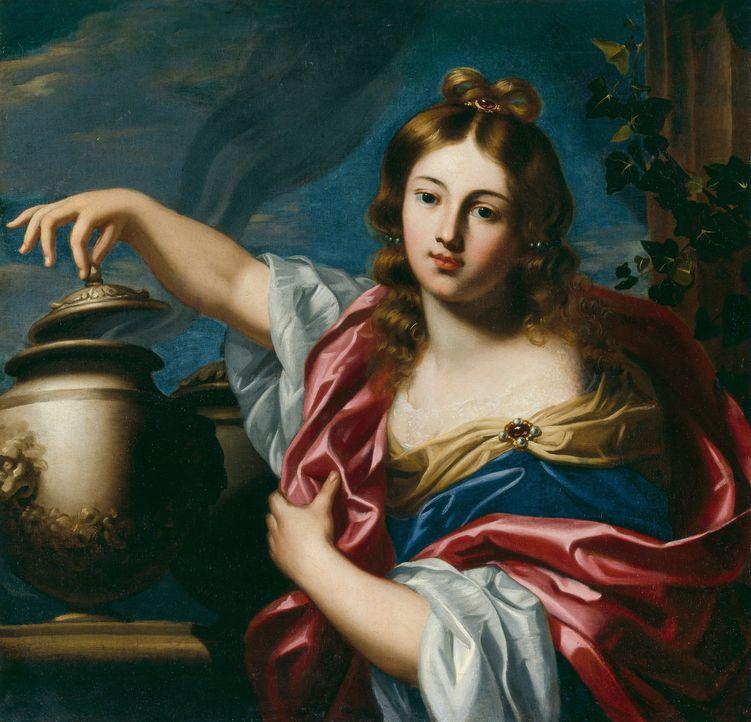 Der Anführer der altgriechischen Götter, Zeus, gab Pandora einst ein Büchse mit speziellen Anweisungen, es unter keinen Umständen zu öffnen. Sie hat... - Bildquelle: Bridgeman Images