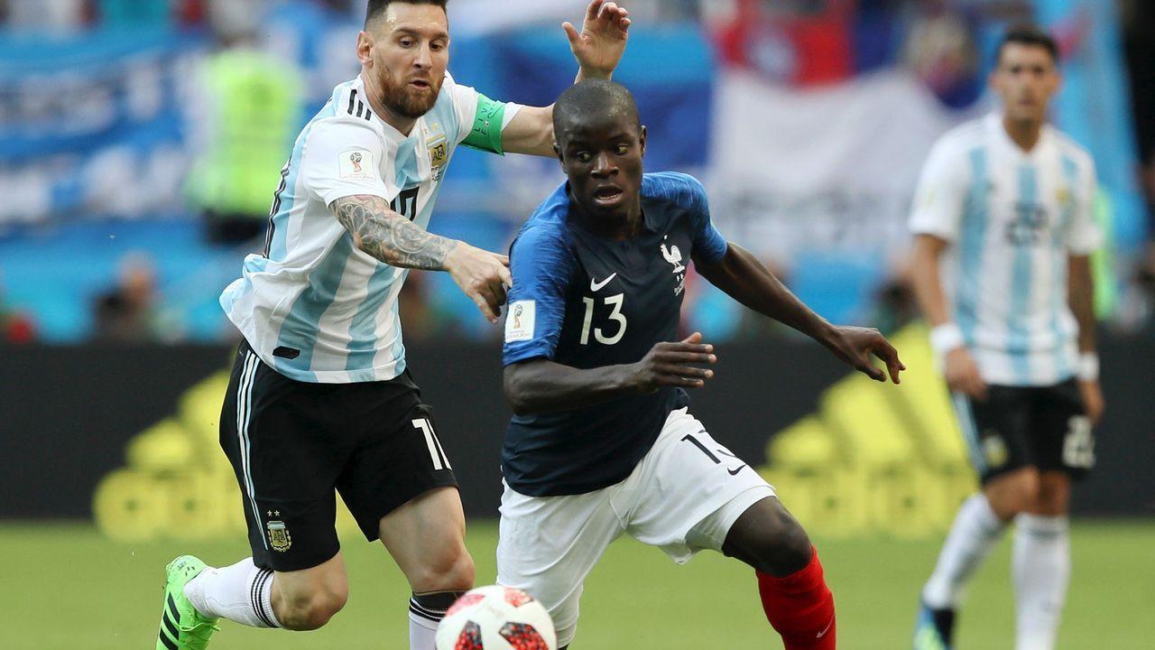 Defensiver Mittelfeldspieler: N'Golo Kante (27, Frankreich) - Bildquelle: 2018 Getty Images