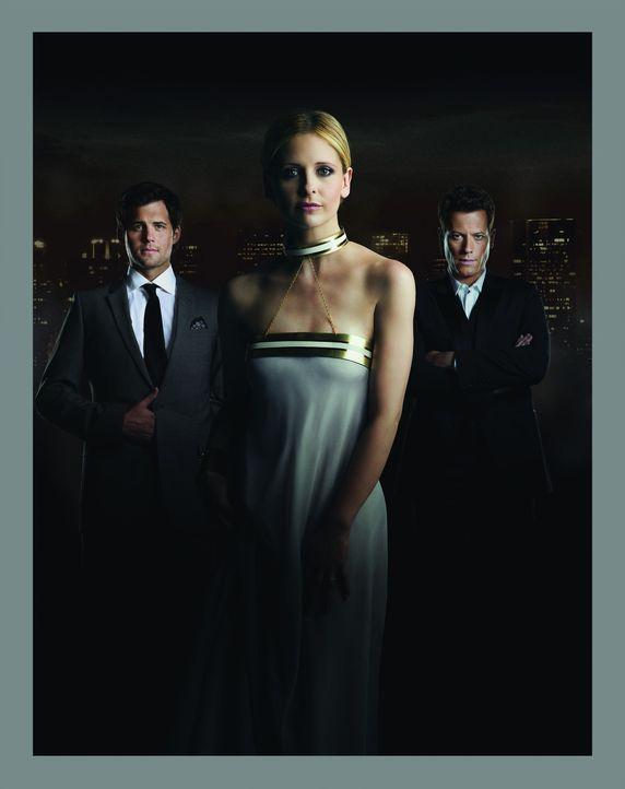 (1. Staffel) - Henry Butler (Kristoffer Polaha, l.) und Andrew Martin (Ioan Gruffudd, r.) spüren zwar eine gewisse Veränderung an Siobhan (Sarah M... - Bildquelle: 2011 THE CW NETWORK, LLC. ALL RIGHTS RESERVED