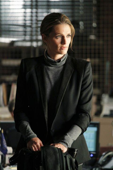 Drei Monate nach dem Mordanschlag auf sie, kehrt Kate Beckett (Stana Katic) ins Revier zurück. - Bildquelle: 2011 American Broadcasting Companies, Inc. All rights reserved.
