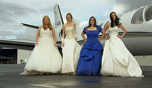 Die perfekte Hochzeit! - Welche Braut trägt das schönste Kleid? Wer hat die l...