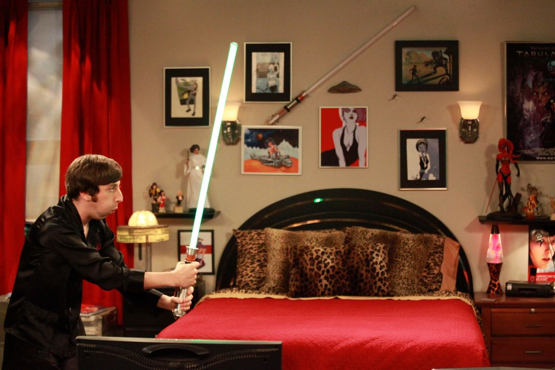 Was ist nur mit Howard (Simon Helberg) los? - Bildquelle: Warner Bros. Television