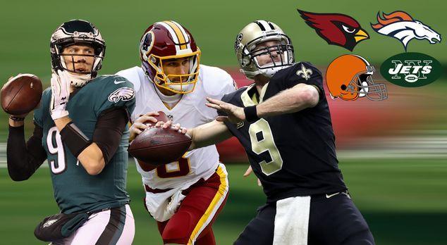 Das Quarterback-Karussell der NFL - Bildquelle: 2017 Getty Images