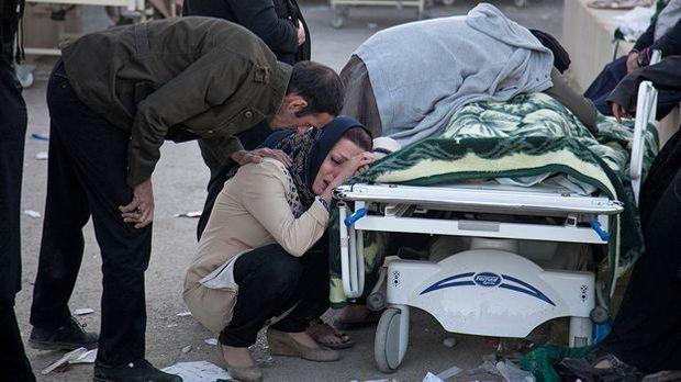 Über 400 Tote bei schwerem Erdbeben zwischen Iran und Irak