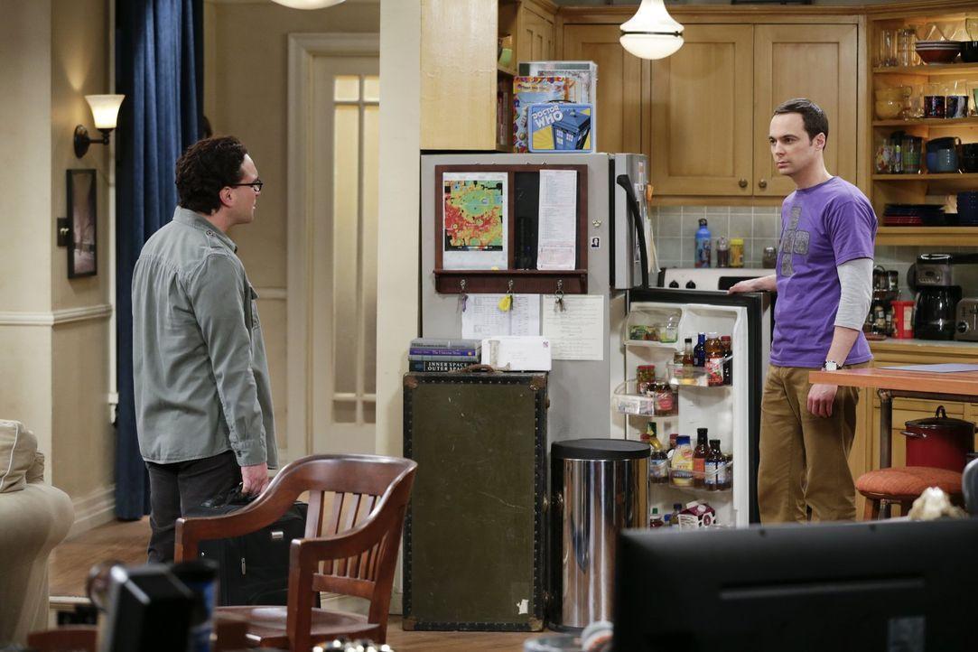 Wer hätte das gedacht? Sowohl Leonard (Johnny Galecki, l.), als auch Sheldon (Jim Parsons, r.) haben Liebeskummer. Auch, wenn sie es beide nicht wir... - Bildquelle: Warner Brothers