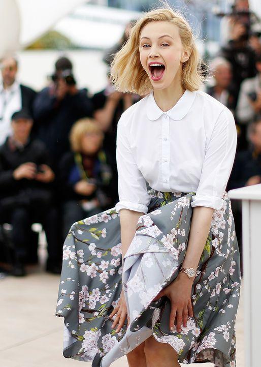Cannes-Filmfestival-Sarah-Gadon-140519-AFP - Bildquelle: AFP