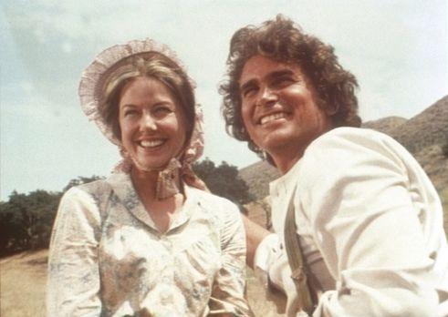 Unsere kleine Farm - Caroline (Karen Grassle, l.) und Charles Ingalls (Michae...