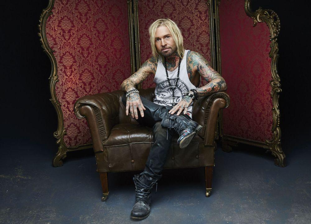 (1. Staffel) - Tattoos sind für Mick Mark nicht nur Bilder auf der Haut ... - Bildquelle: Jens Koch sixx