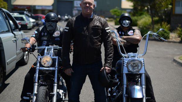 Die australische Polizei geht davon aus, dass Motorradclubs wie die Rebels od...