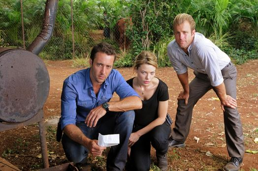 Hawaii Five-0 - Ermitteln in einem neuen Fall: Steve (Alex O'Loughlin, l.), D...
