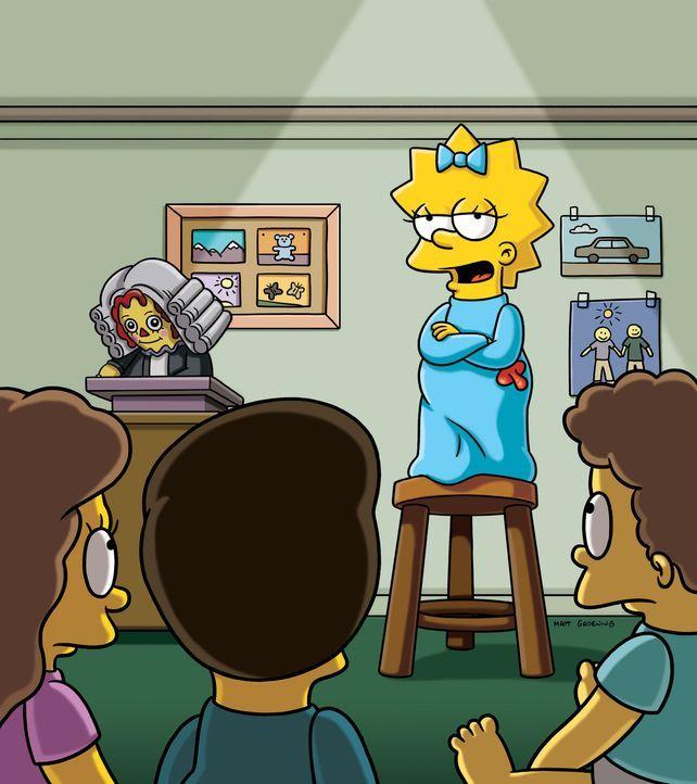 Marge und Lisa führen ein Gespräch in dessen Verlauf vier Geschichten über vier starke Frauen erzählt werden. Eine Geschichte davon handelt von... - Bildquelle: und TM Twentieth Century Fox Film Corporation - Alle Rechte vorbehalten