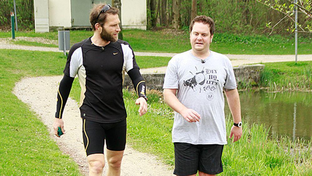 Tim trainiert für den Marathon - Bildquelle: kabel eins