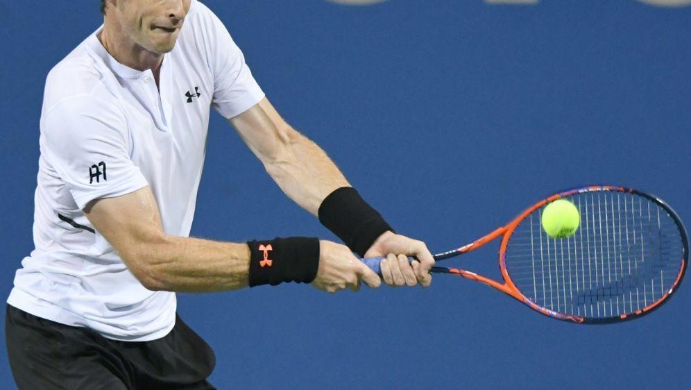 Andy Murray gewinnt sein Erstrundenmatch in drei Sätzen - Bildquelle: AFPGETTY SIDMitchell Layton