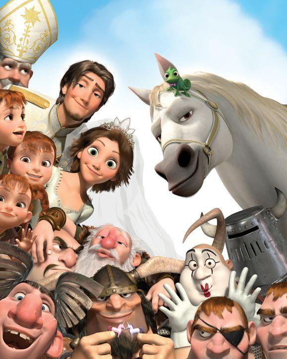 Das Königreich ist in Aufregung: Rapunzels und Flynns Hochzeit steht bevor! Und es läuft alles wie geplant - oder auch ganz anders ... - Bildquelle: Disney.  All rights reserved