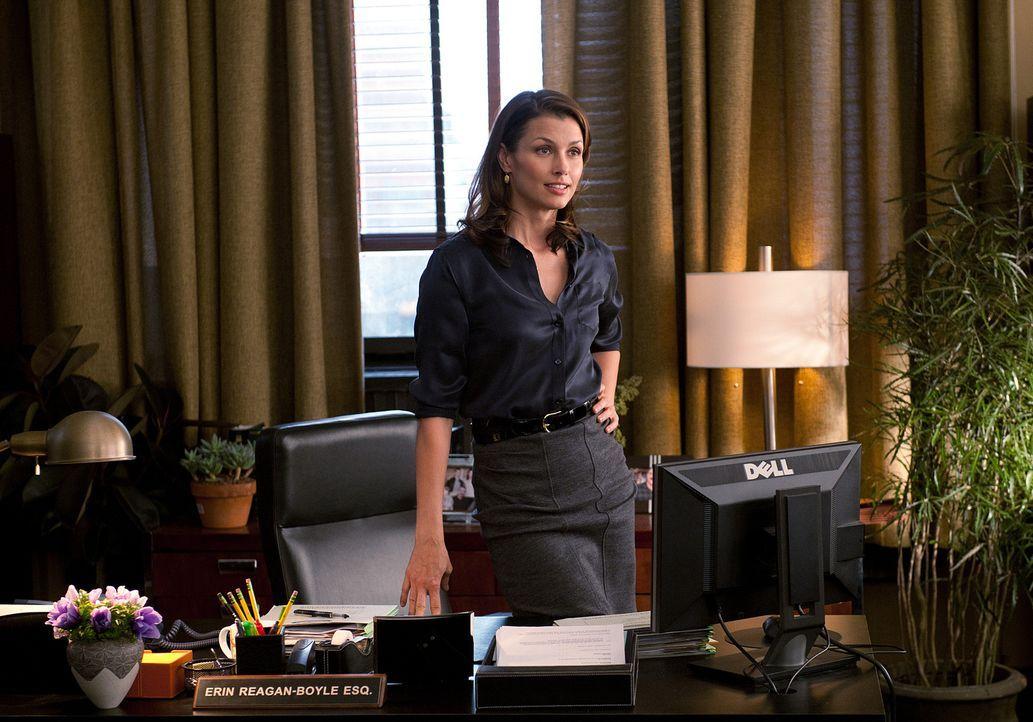 Erin (Bridget Moynahan) konnte wieder einen Fall erfolgreich abschließen, worauf sie sehr stolz ist ... - Bildquelle: 2010 CBS Broadcasting Inc. All Rights Reserved