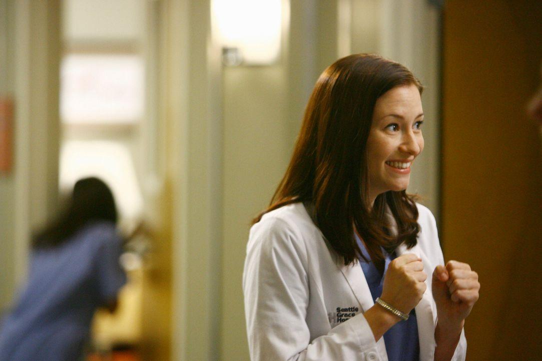 Lexie (Chyler Leigh) und die anderen Anfänger bekommen weder bei Cristina noch bei den anderen die Chance, irgendetwas  zu lernen. Da muss Lexie er... - Bildquelle: Touchstone Television