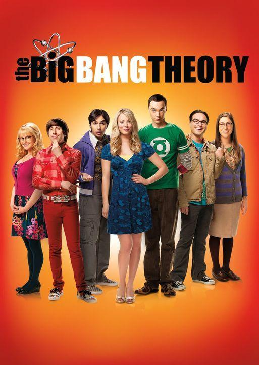 (8. Staffel) - Eine ganz besondere Clique: Bernadette (Melissa Rauch, l.), Howard (Simon Helberg, 2.v.l.), Amy (Mayim Bialik, r.), Sheldon (Jim Pars... - Bildquelle: Warner Bros. Television