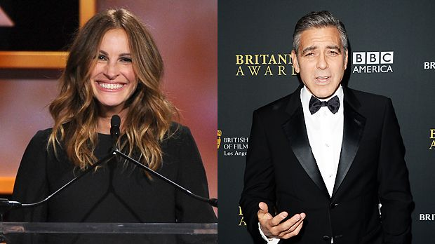 Julia-Roberts-13-11-09-AFP-George-Clooney-13-11-09-AFP - Bildquelle: AFP