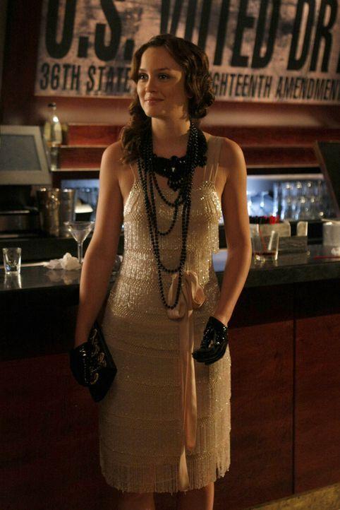 Blair (Leighton Meester) weiß, wie der Abend trotz gefälschter Alkohollizenz für die Gäste unvergesslich wird. - Bildquelle: Warner Brothers