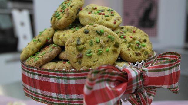 Indische Kekse mit Pistazien