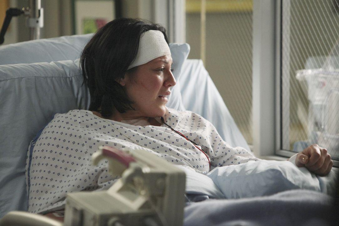 Eine Woche ist seit Callies (Sara Ramirez) Unfall vergangen. Ihre kleine Tochter trägt den Namen Sofia Robbin Sloan Torres und wiegt knapp ein halb... - Bildquelle: ABC Studios