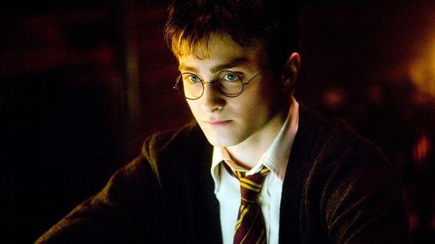 Obwohl Harry Potter (Daniel Radcliffe) dabei war, wie Lord Voldemort wieder a...
