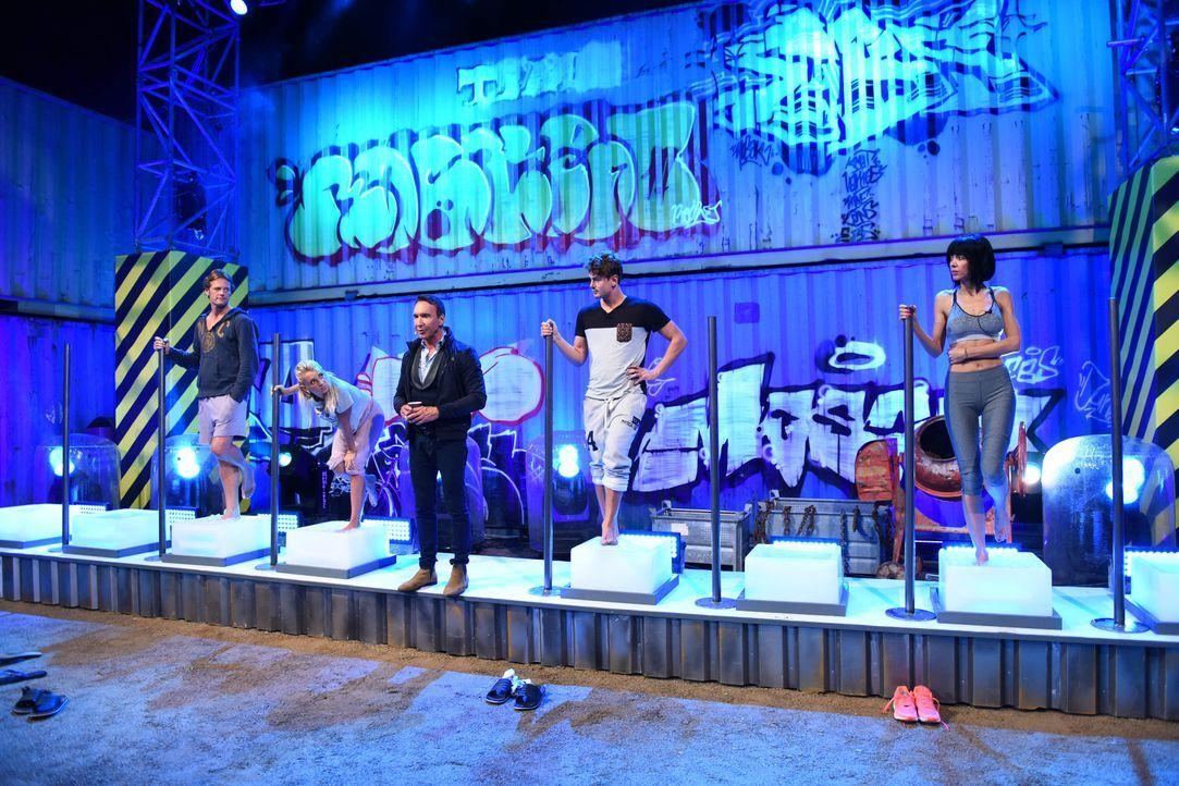 """Eiszeit bei """"Promi Big Brother"""" - Bildquelle: SAT.1"""