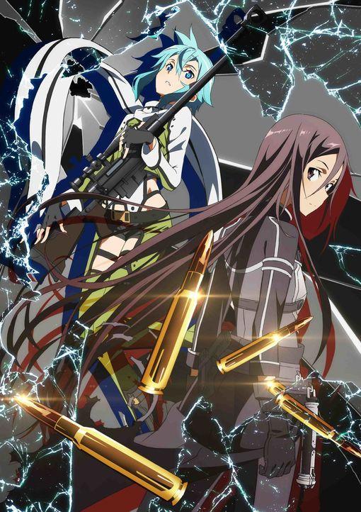 (2. Staffel) - Sword Art Online - Artwork - Bildquelle: REKI KAWAHARA/PUBLISHED BY KADOKAWA CORPORATION ASCII MEDIA WORKS/SAO II Project