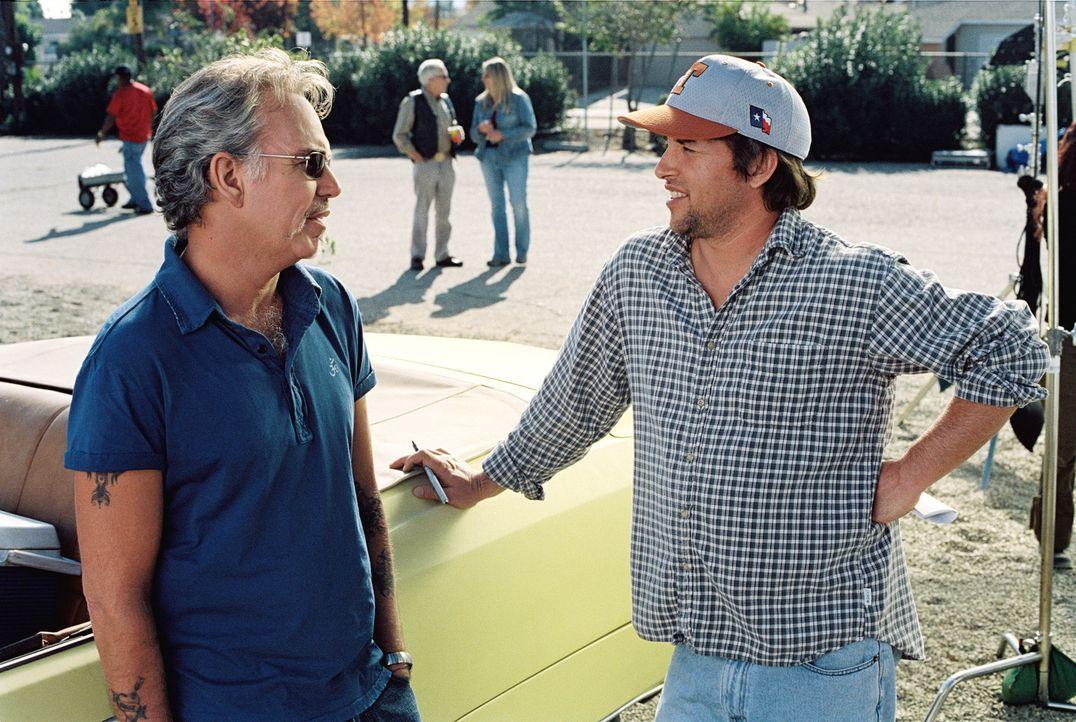 """Der neue Coach der """"Bears"""", Morris Buttermaker (Bill Bob Thornton, l.), scheint einen besseren Einfluss auf die unbegabten Baseball-Spieler zu haben... - Bildquelle: TM &   Paramount Pictures. All Rights Reserved."""