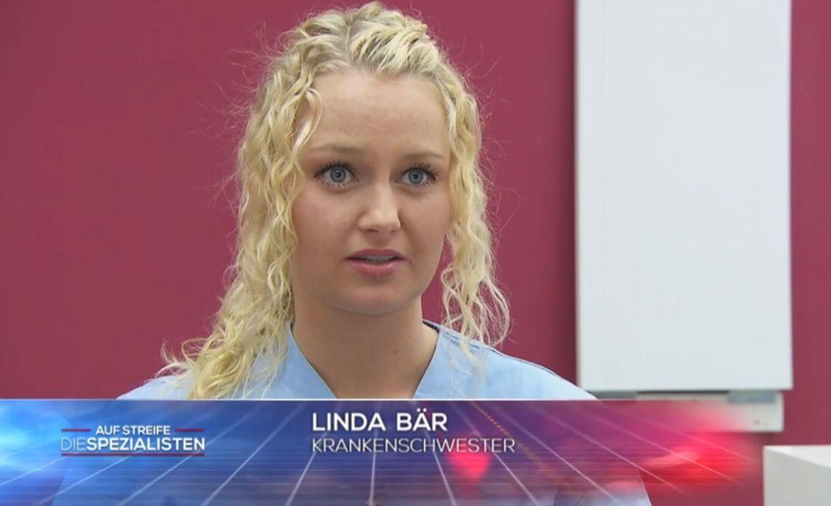 Krankenschwester Linda Bär