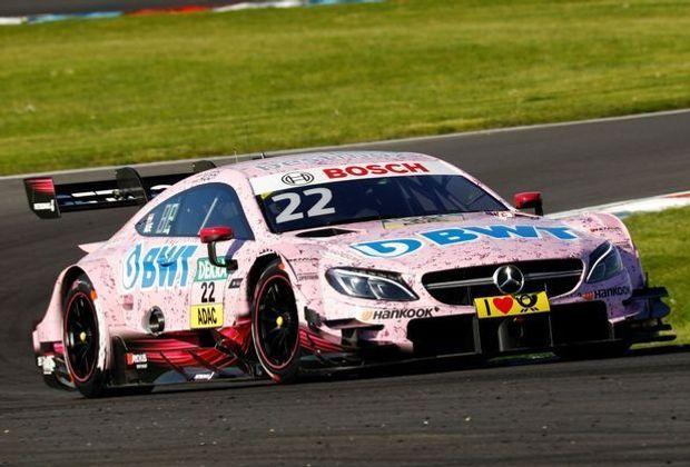 Lucas Auer sichert sich die Pole auf dem Lausitzring