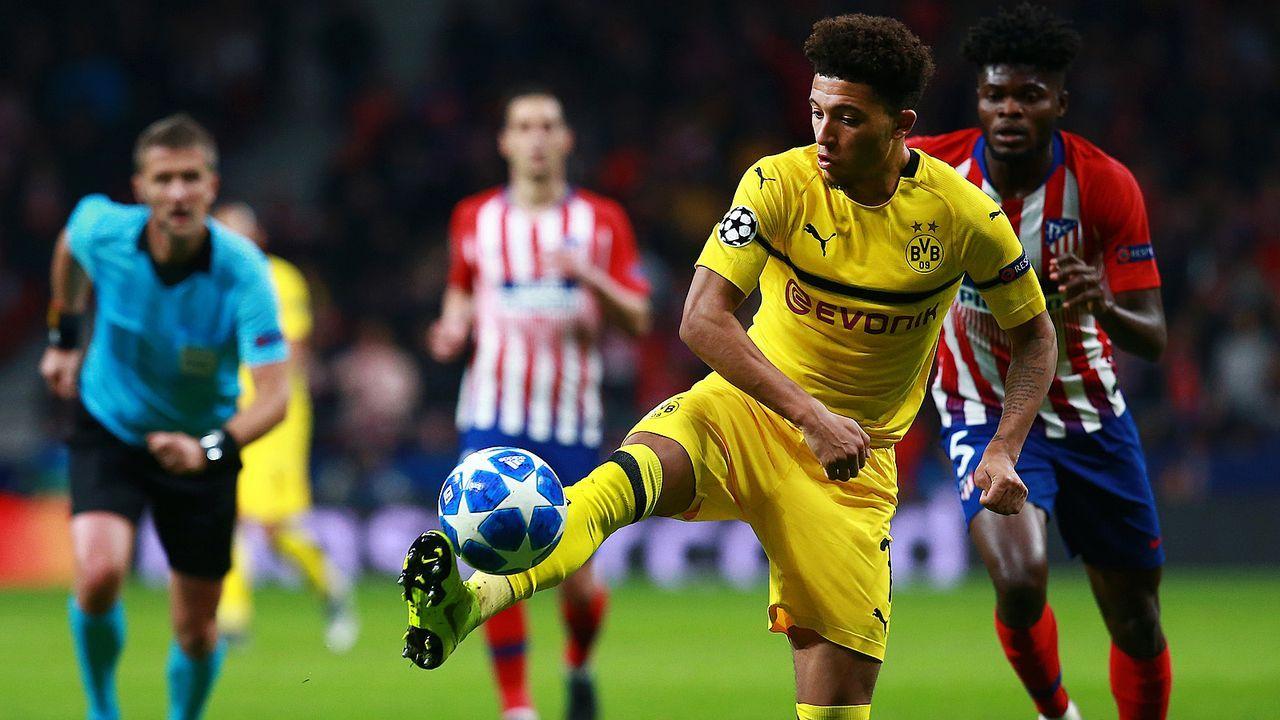 Jadon Sancho (Borussia Dortmund) - Bildquelle: Getty Images
